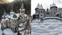 Il castello fiabesco che incanta i visitatori: un'altra meraviglia italiana