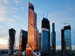 Situata nel Centro internazionale di affari di Mosca, è il terzo edificio più alto della Russia. Con i suoi vetri color rame per alcuni sembra essere una scala verso il paradiso.