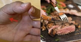 How to control meat cooking without thermometer