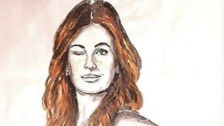 Vanessa Incontrada nuda diventa un murale