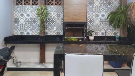 In questa cucina c'è un gatto ma scovarlo è quasi impossibile