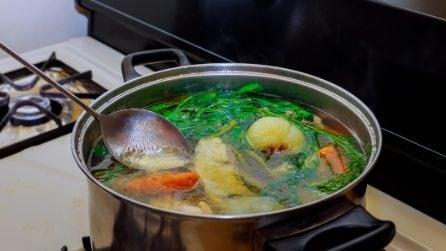 Come riutilizzare l'acqua di cottura degli alimenti