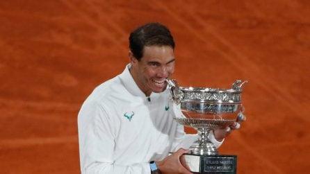 Nadal batte Djokovic e vince per la 13esima volta il Roland Garros