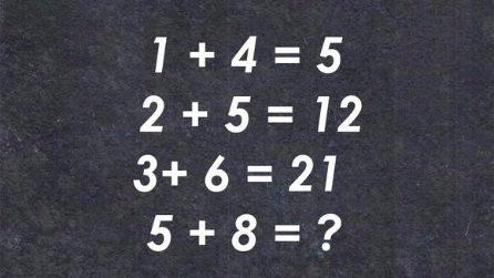 """Matematica e logica: mettiti alla prova con questa """"espressione"""""""