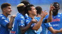 Il Napoli travolge l'Atalanta, al San Paolo finisce 4-1
