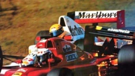 Senna vs Prost, il famoso scontro di Suzuka 1990 fa 30 anni