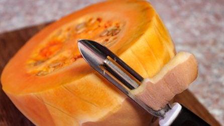 Come riutilizzare la buccia della zucca