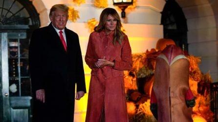 Melania Trump, il look a tema Halloween