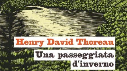 """Le illustrazioni di Rocco Lombardi a """"Una passeggiata d'inverno"""" di Henry D. Thoreau"""