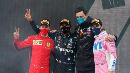 Lewis Hamilton vince in Turchia ed è campione del mondo per la 7a volta