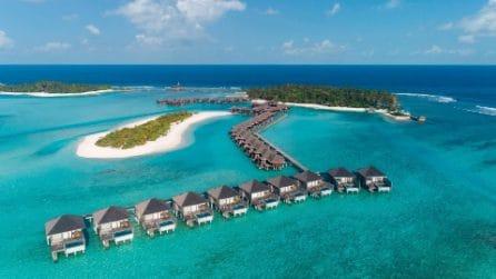 Nel resort paradisiaco delle Maldive dove i soggiorni sono illimitati
