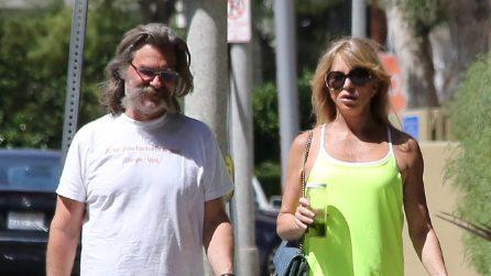 Le foto di Goldie Hawn e Kurt Russell