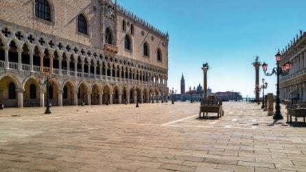 Venezia completamente vuota come non l'avremmo mai neppure immaginata