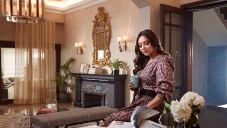 Nella villa dell'attore di Bollywood Shah Rukh Khan e dell'interior designer Gauri Khan