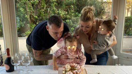 La festa casalinga di Stella, la prima figlia di Costanza Caracciolo