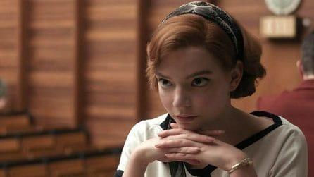 I look più belli di Beth Harmon ne La regina degli Scacchi