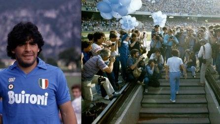 Diego Armando Maradona, le foto da calciatore che hanno fatto la storia