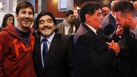 Diego Armando Maradona, l'omaggio di Leo Messi