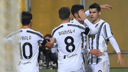 Serie A 20-21, le immagini di Benevento-Juventus
