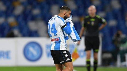 L'omaggio a Maradona poi il Napoli batte la Roma 4-0