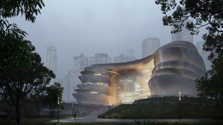 Il futuro Museo della Scienza e della Tecnologia di Shenzhen