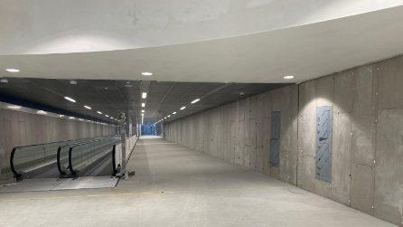 La stazione della metro M4 di Linate è quasi pronta: le immagini in anteprima