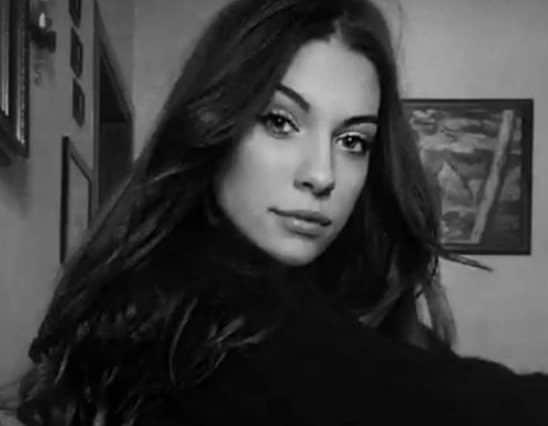 MISS ROMA: Martina Sambucini di 19 anni, di Frascati (Roma)