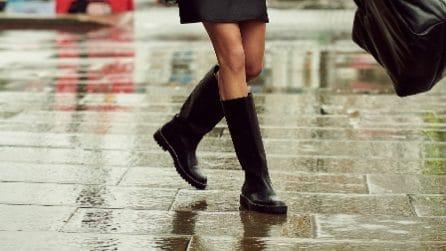 Gli stivali in gomma perfetti per l'inverno 2020-21