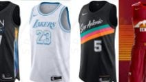 Lo spettacolo della NBA nelle nuove City Edition delle squadre per la stagione 2021
