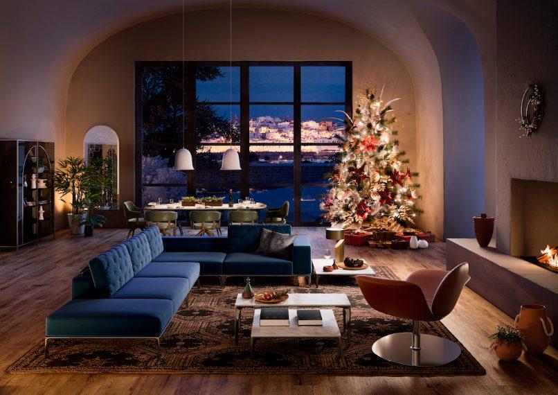 Per gli amanti del design, Natuzzi Italia, celebre marchio del Made in Italy, presenta il suo Natale in stile mediterraneo con accessori che evocano quel senso di armonia, comodità e lifestyle che contraddistingue il brand, per vivere la casa in un momento in cui la famiglia e gli amici si riuniscono per godere della reciproca compagnia.