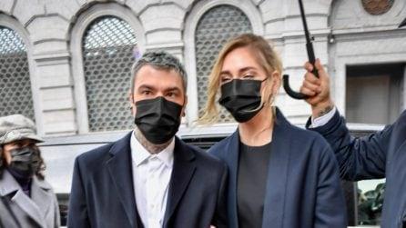 Chiara Ferragni e Fedez, i look per ritirare l'Ambrongino d'oro