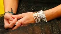 I bracciali preziosi di Elisabetta Gregoraci