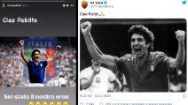 Paolo Rossi, le reazioni del mondo del calcio