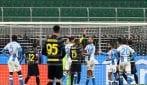 Lorenzo Insigne espulso per insulti all'arbitro contro l'Inter