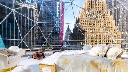 La sfera luminosa di Times Square per Capodanno 2021