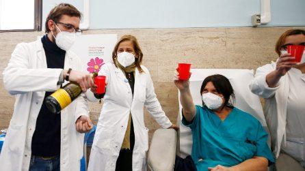 Covid, vaccinazioni avanti anche a Capodanno agli operatori sanitari della ASL Roma 1
