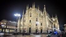 Milano in lockdown per il Capodanno 2021: piazza Duomo è vuota