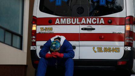 Emergenza Coronavirus in Messico: code davanti agli ospedali, infermieri stremati