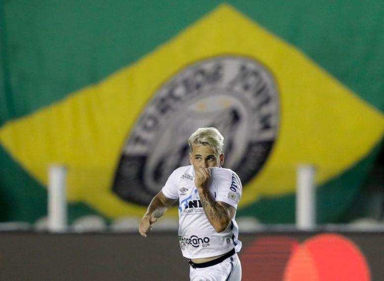 Yeferson Soteldo, Santos-Boca Juniors, Copa Libertadores