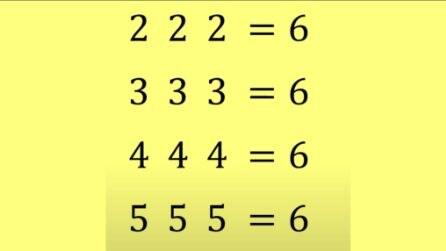 6 s Challenge, il quiz di matematica con regole precise: riesci a risolverlo?