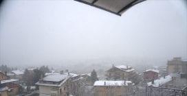 Neve ad Avellino, la città è imbiancata