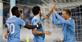 La Lazio vince il derby 3-0 con la Roma