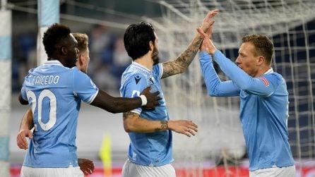 Serie A, le immagini del derby Lazio-Roma