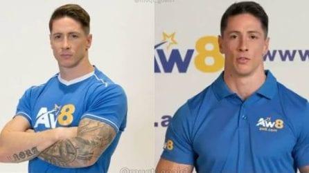 L'incredibile trasformazione fisica di Fernando Torres