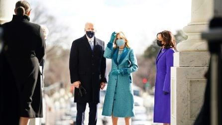 Jill Biden: la First Lady sceglie l'azzurro per l'Inauguration Day