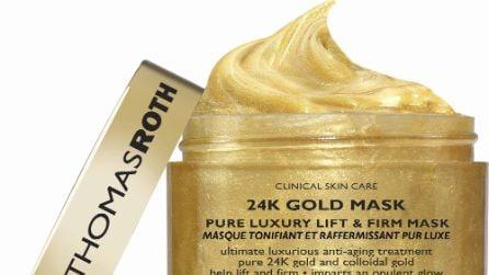 20 cosmetici a base di oro