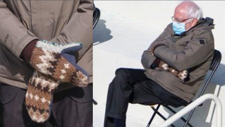 USA, spopolano i guanti del senatore Sanders durante l'insediamento di Biden