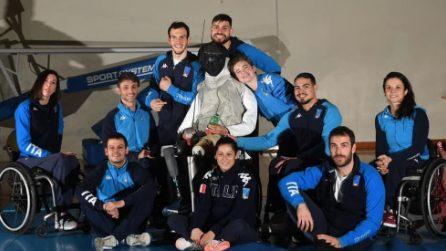 La nuova mascotte della nazionale paralimpica di scherma