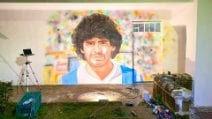 Un murale dedicato a Diego Armando Maradona: dove sorgerà