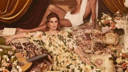 Vanessa Incontrada è modella per Dolce&Gabbana